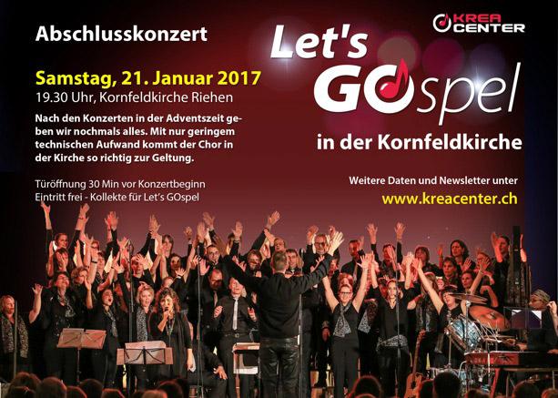 Lets Gospel - Konzerthinweis